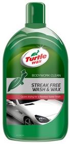 Rychloschnúci autošampón s voskom Turtle Wax