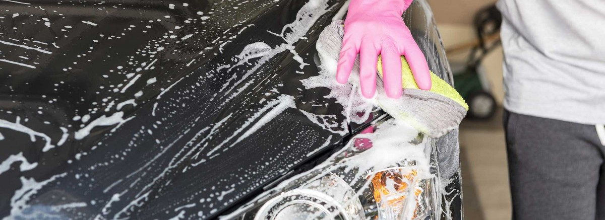 7 najcastejsich chyb pri umyvani auta
