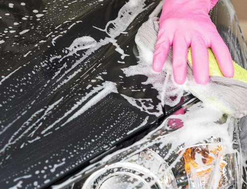Správne umývanie auta