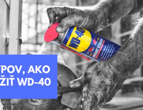 11 tipov, ako vám WD-40 dokáže uľahčiť život!